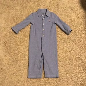 Ralph Lauren Baby Boys Oxford Coverall (12 mo)